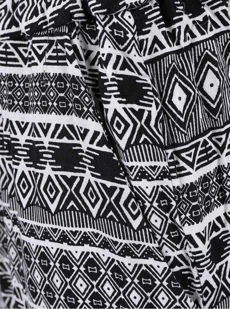 Salopetă Haily´s Etta cu imprimeu alb-negru