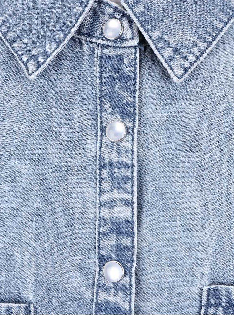 Cămaşă fără mâneci Haily´s Claudette din denim, albastru