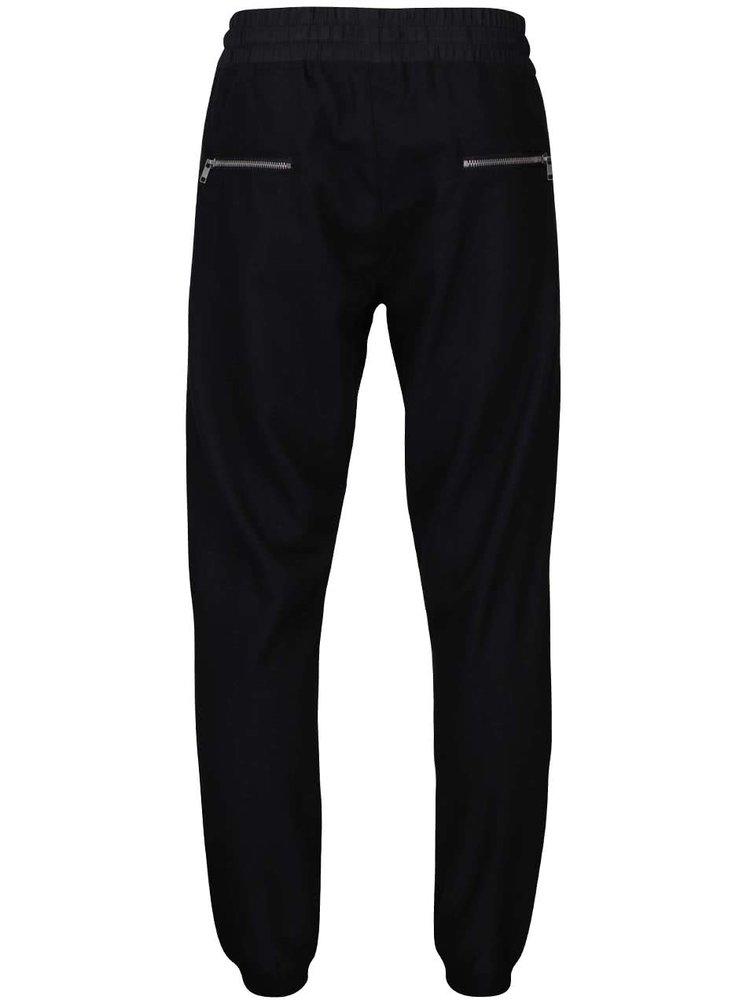 Pantaloni de bărbați Lindbergh negri