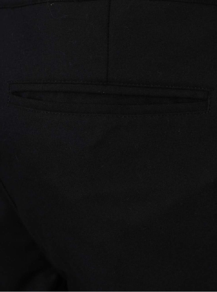 Černé pánské společenské kalhoty Lindbergh