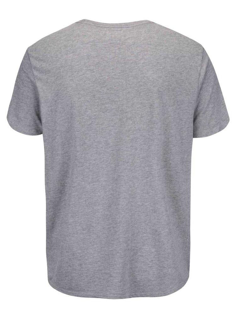 Tricou Shine Original Don't wait gri cu mesaj