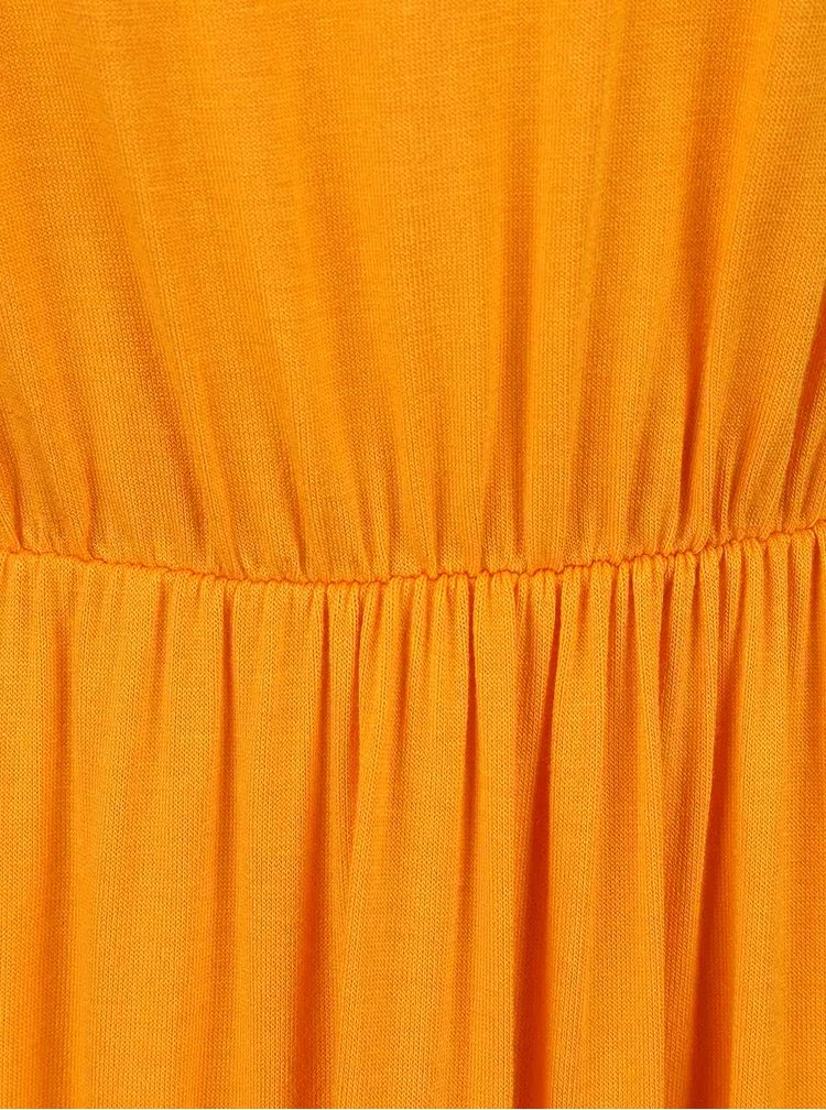 Rochie maxi Dorothy Perkins Petite portocaliu deschis