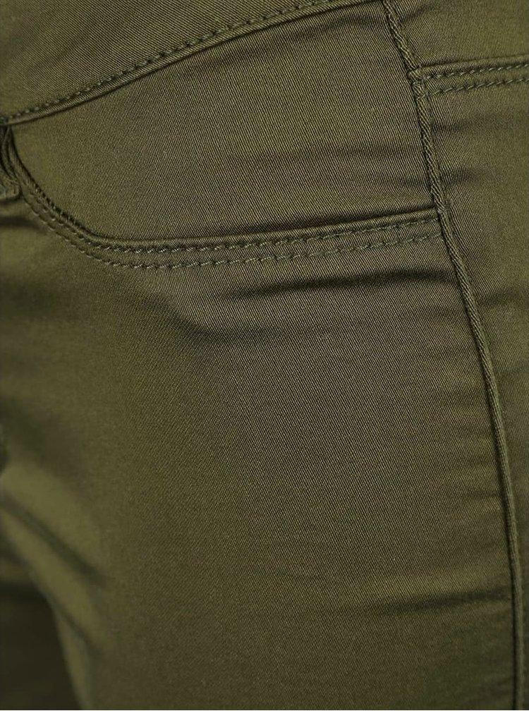 Pantaloni scurți VERO MODA Flex-It kaki
