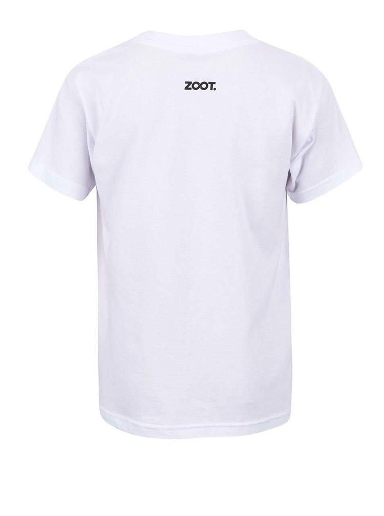 Bílé dětské tričko s potiskem nanuku Míša