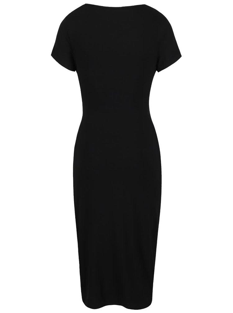 Černé těhotenské šaty Dorothy Perkins Maternity