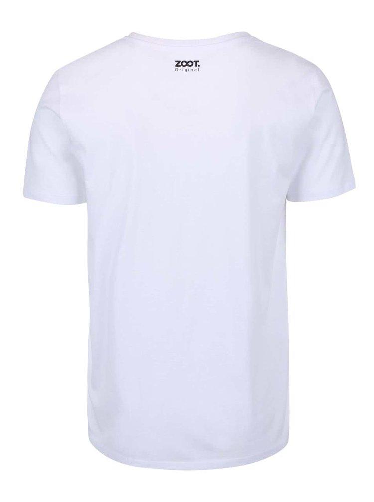 Bílé pánské triko ZOOT Originál 100 krav