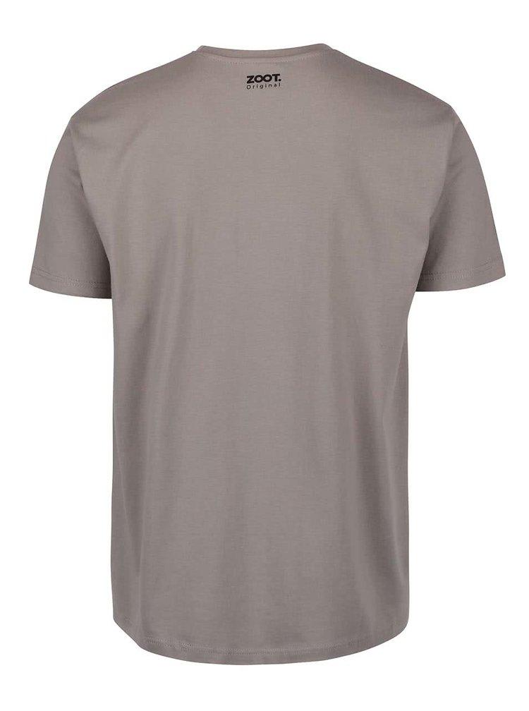 Šedé pánské triko ZOOT Originál Vezmeš si mě