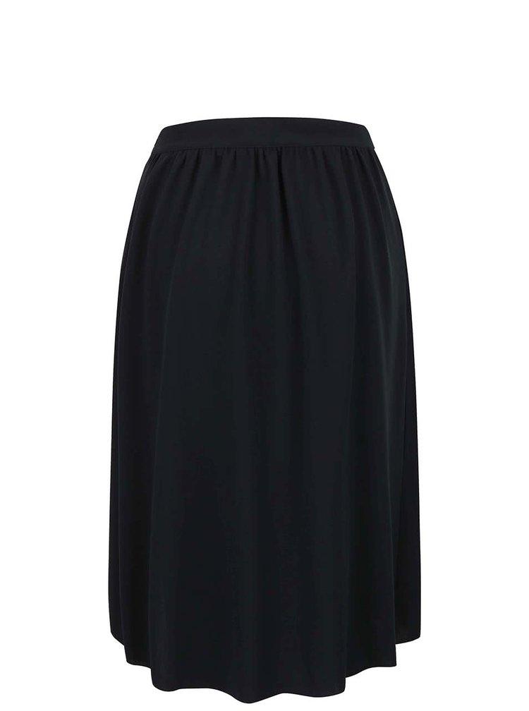 Černá skládaná sukně Alchymi Bellis