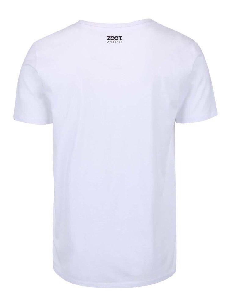 Bílé pánské triko ZOOT Originál Svědek