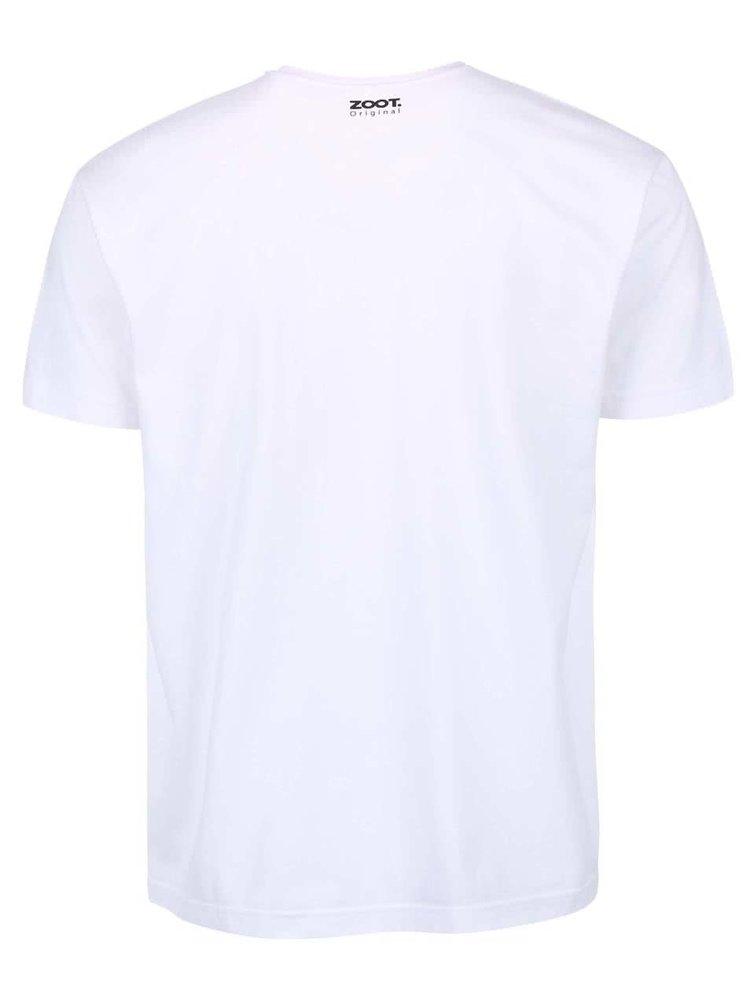Bílé pánské triko ZOOT Originál Desatero