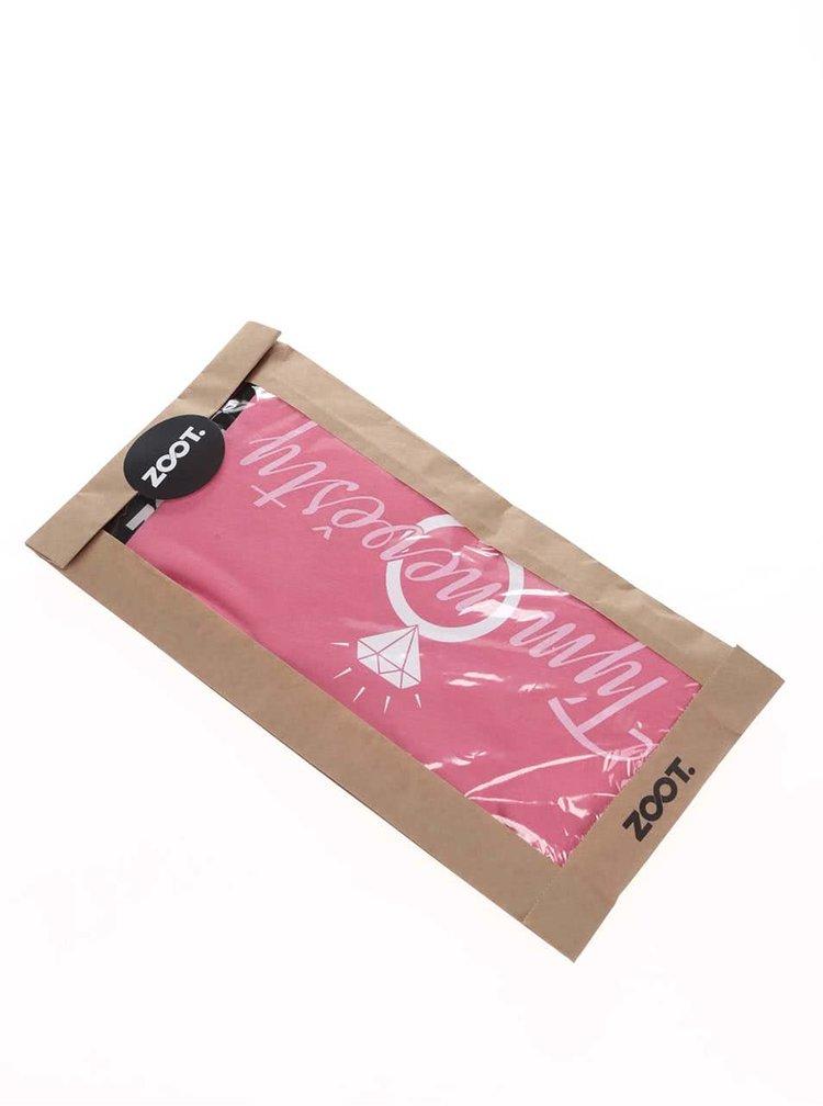 Růžové dámské tričko ZOOT Originál Tým nevěsty