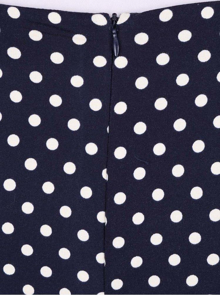 Rochie Fever London Millie albastră cu buline