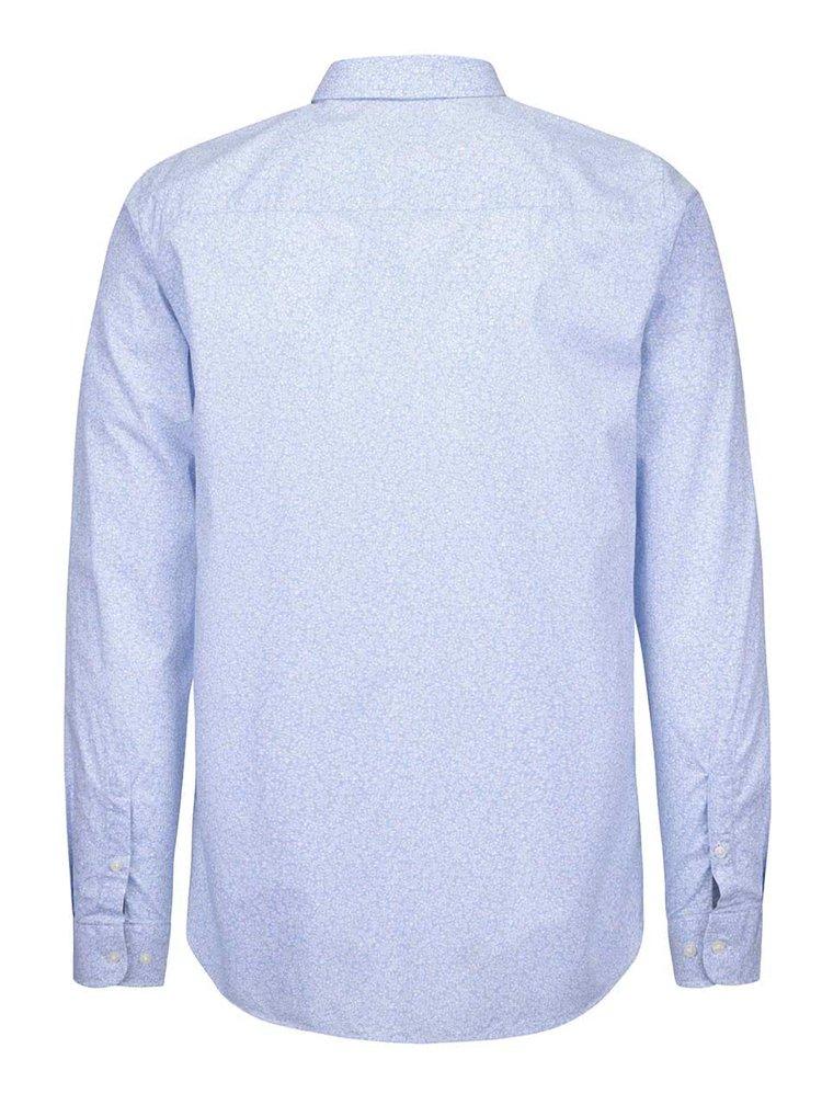 Svetlomodrá košeľa so vzorom Jack & Jones Donald