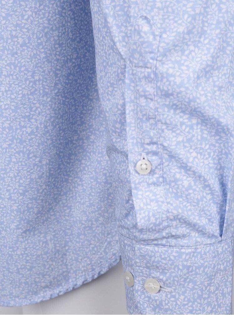 Cămașă Jack & Jones Donald albastru deschis
