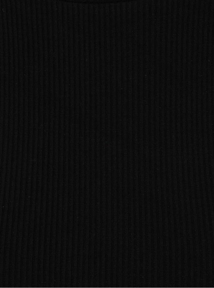 Čierne tehotenské tričko Dorothy Perkins Maternity