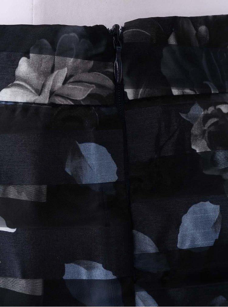 Tmavě modrá organzová sukně Apricot
