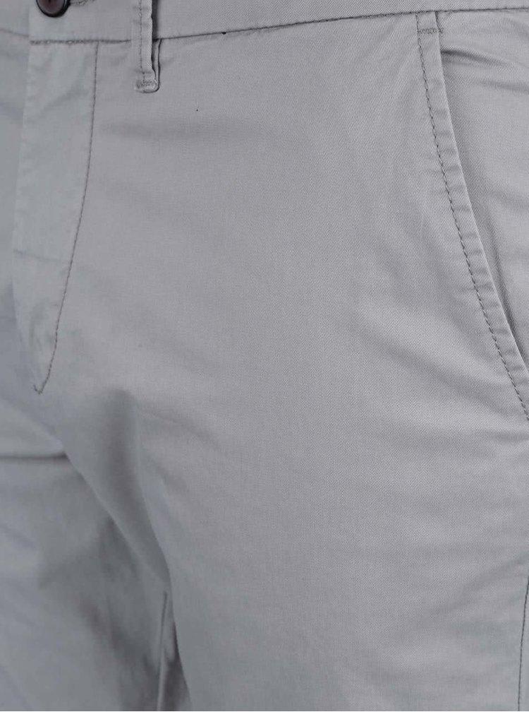 Svetlosivé chino nohavice Jack & Jones Marco Earl