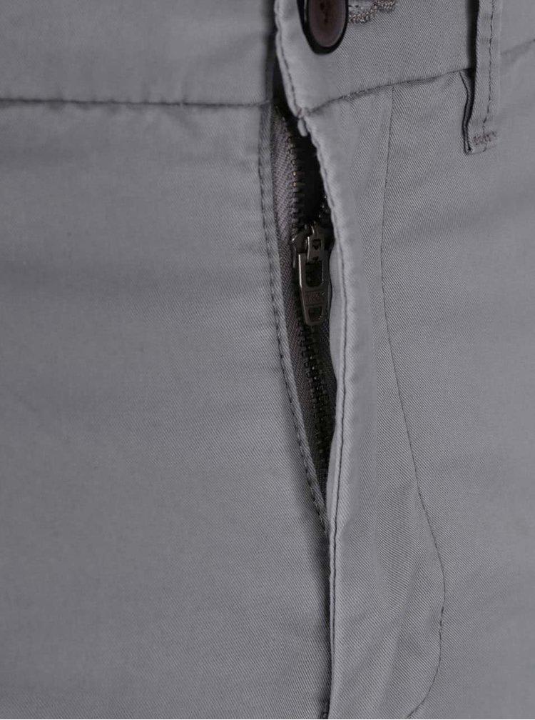 Světle šedé chino kalhoty Jack & Jones Marco Earl