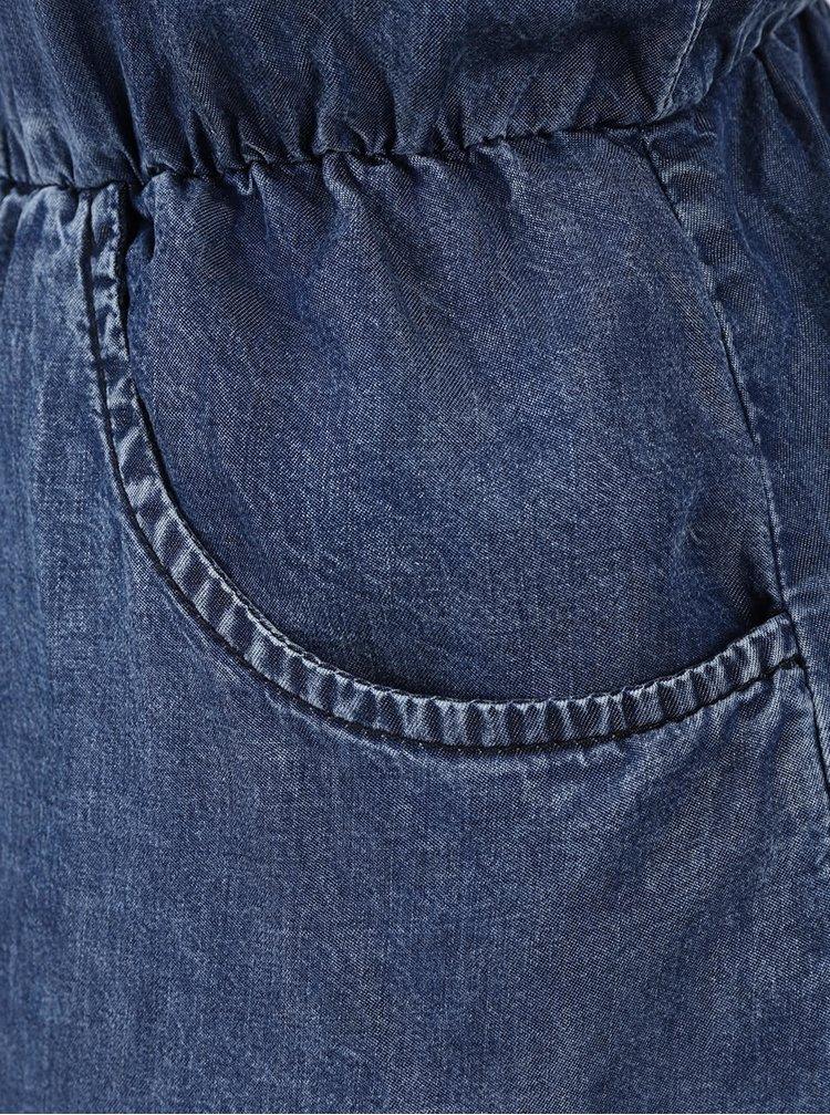 Modré džínové šaty ONLY Brandy