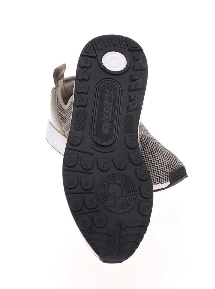 Béžové vzorované unisex tenisky adidas Originals ZX Flux ADV