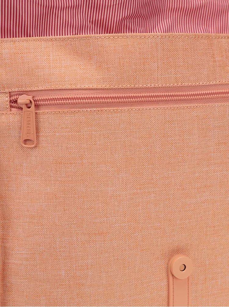 Meruňkový dámský batoh s popruhem Herschel City