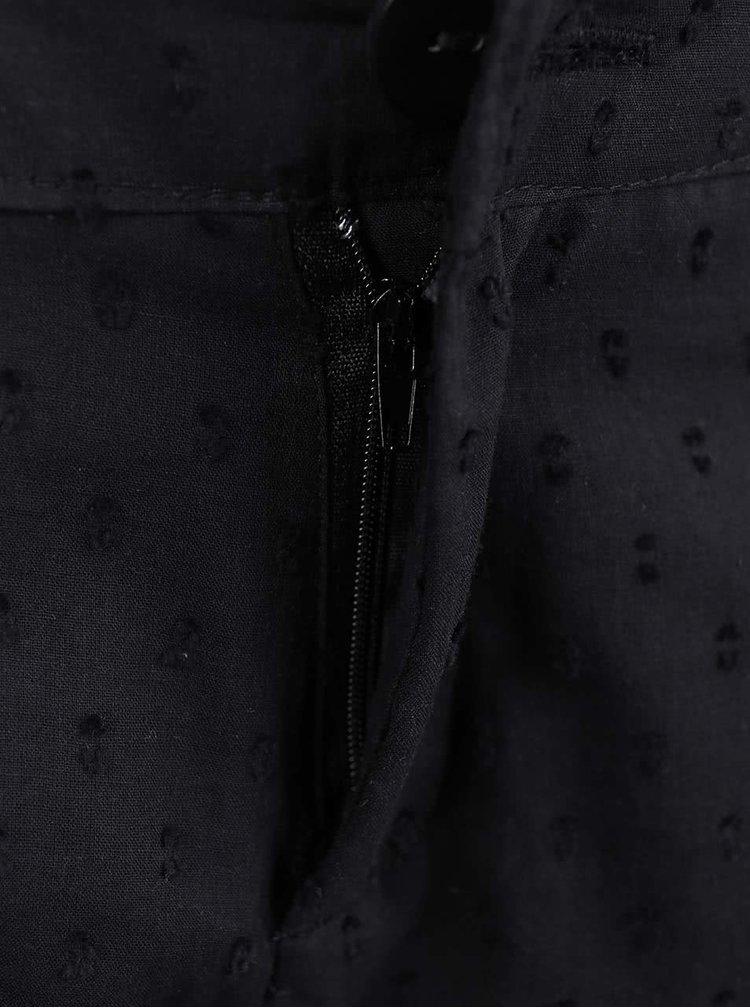 Černé kraťasy s krajkou Haily´s Jeane