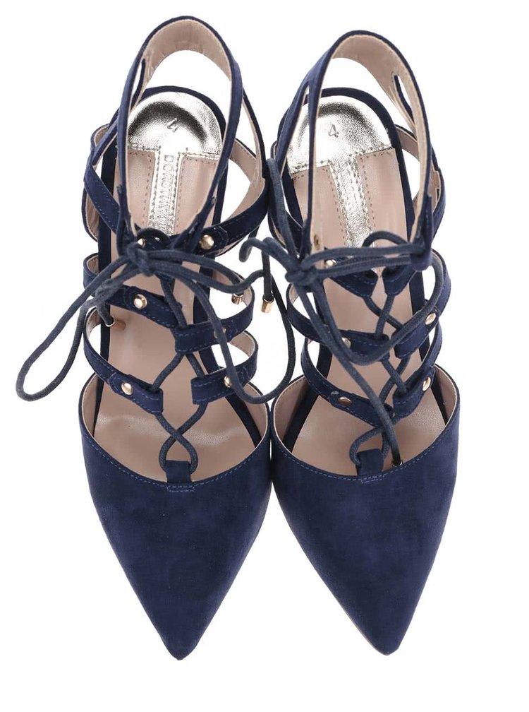 Sandale Dorothy Perkins albastru inchis
