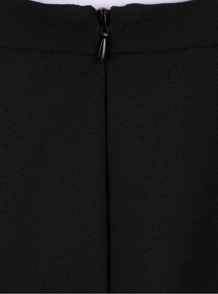 Čierne šaty s trakmi Dorothy Perkins