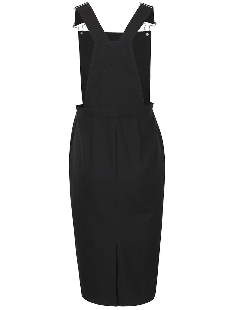 Černé šaty s laclem Dorothy Perkins