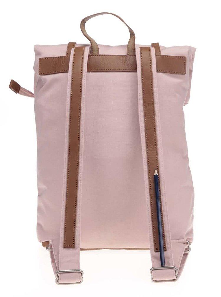 Ružový unisex batoh s nastaviteľnou výškou Ridgebake Mid Rolling