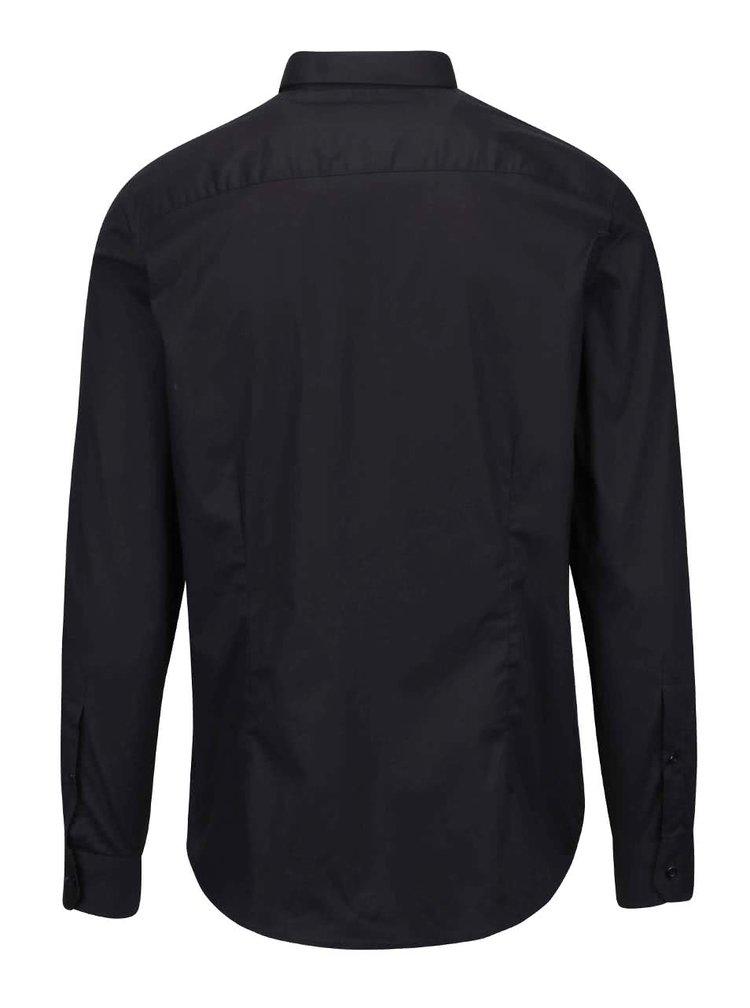 Čierna košeľa Tailored & Originals Knight