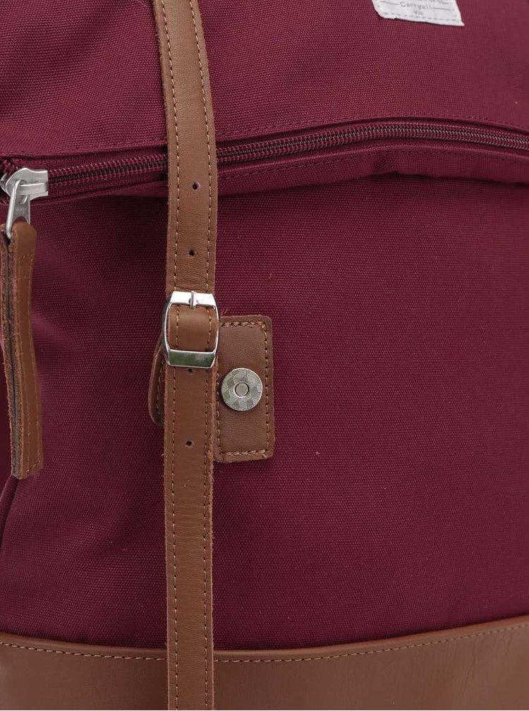 Vínový unisex batoh s nastavitelnou výškou Ridgebake Mid Rolling