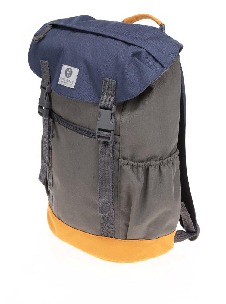 Modro-zelený unisex velký batoh Ridgebake Otone