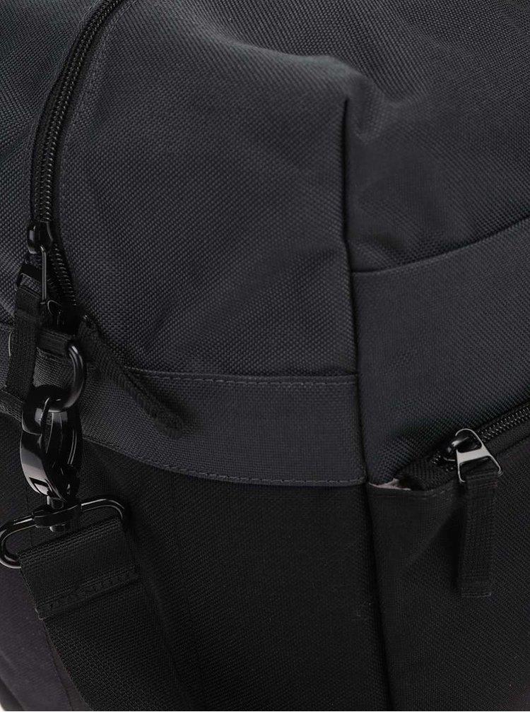 Šedo-černá unisex cestovní taška Ridgebake Weekender