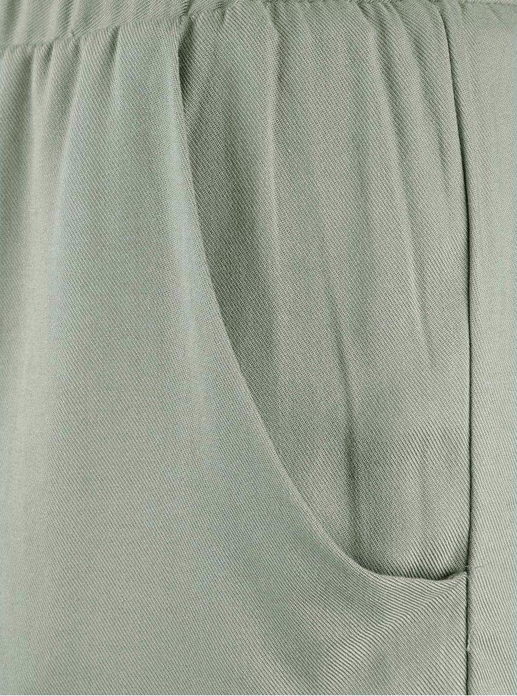 Kaki kraťasy s mašľou Haily´s Lucy