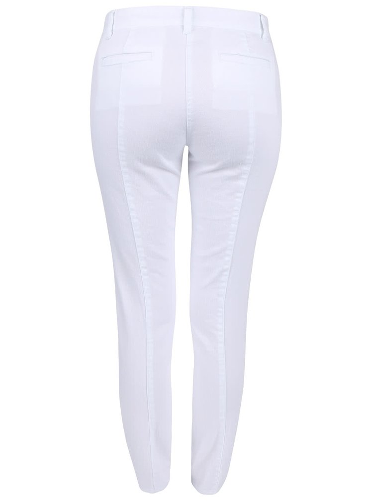 Bílé dámské kalhoty s knoflíky Nautica