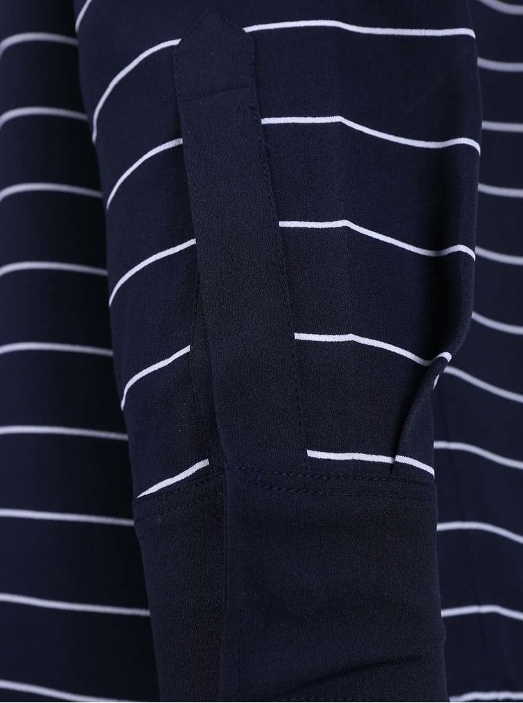Bluza Nautica albastru inchis cu dungi