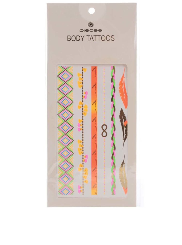 Tatuaje Pieces Tattoo aurii