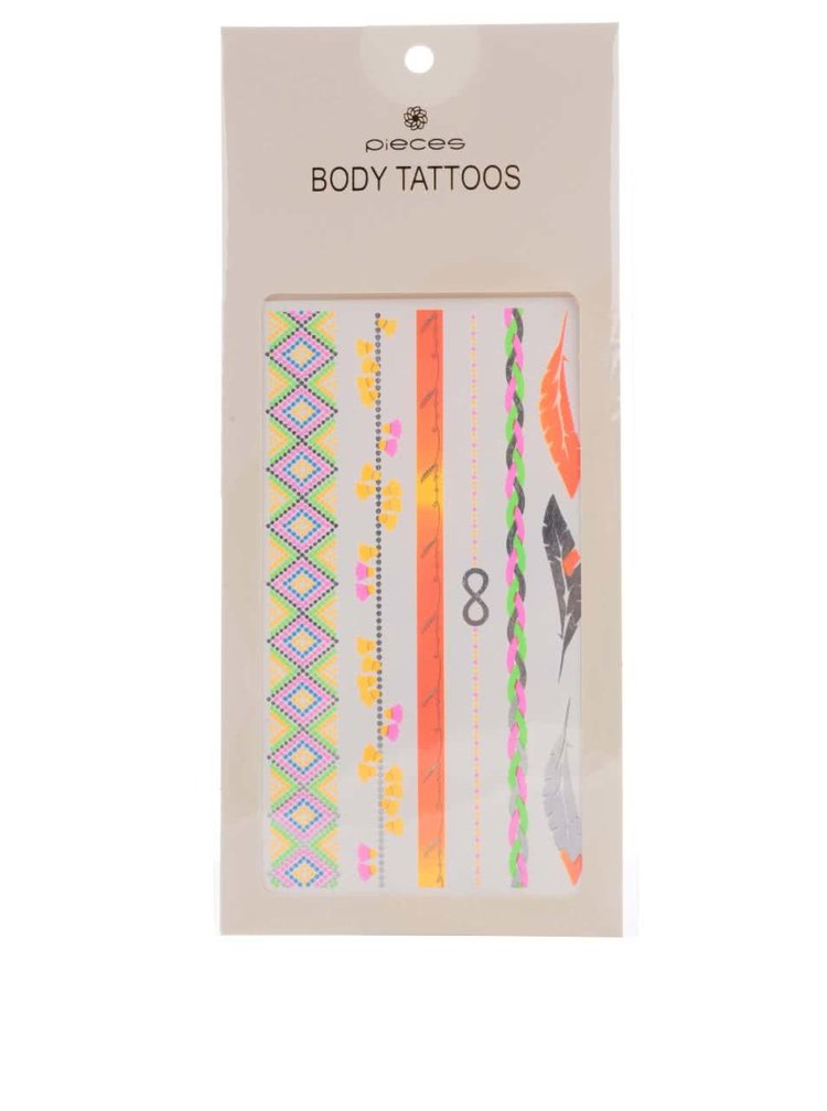 Tatuaje Pieces Tattoo argintii