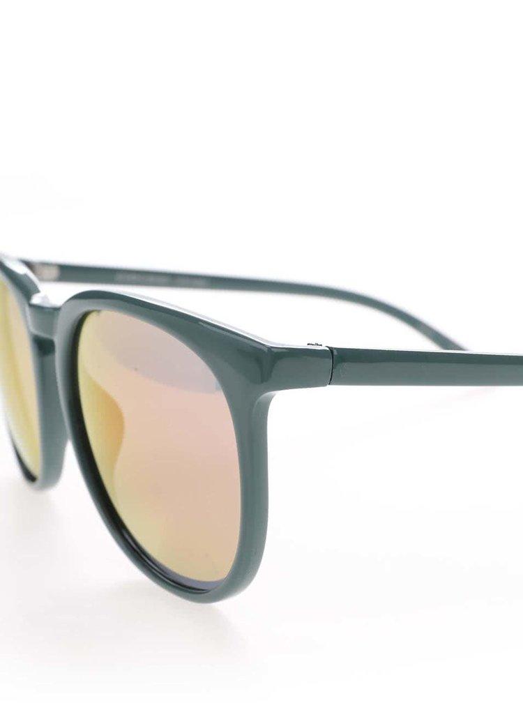 Zelené slnečné okuliare Pieces Banana