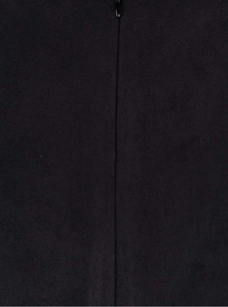 Černá sukně v semišové úpravě SisterS Point Sera