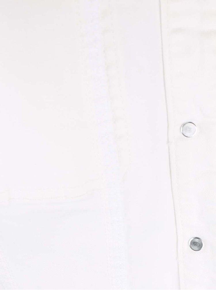 Krémová rifľová bunda SisterS Point Marni