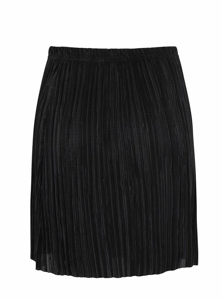 Černá plisovaná sukně SisterS Point Nicca
