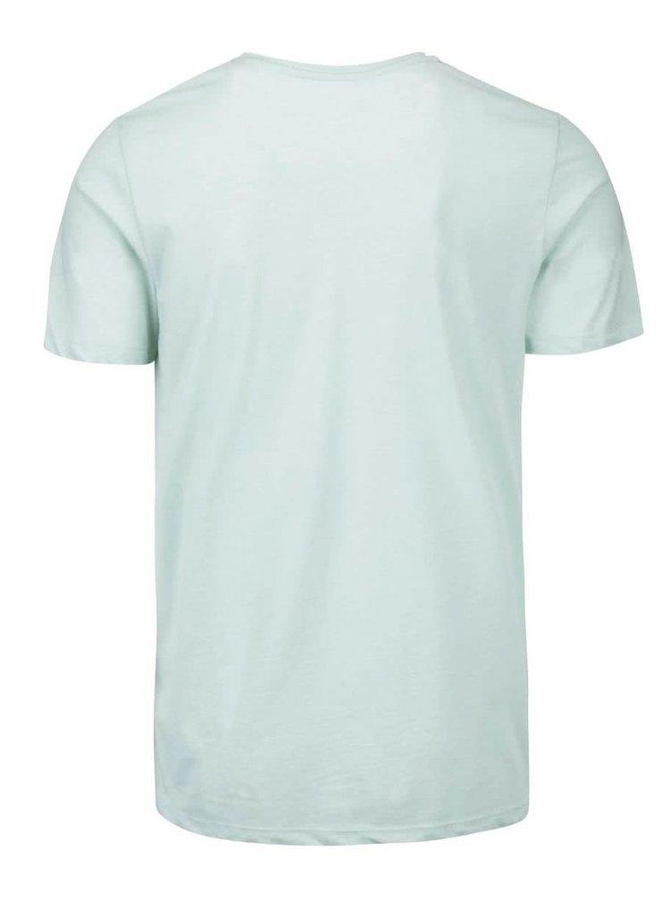 Světle zelené triko s potiskem Jack & Jones Bow