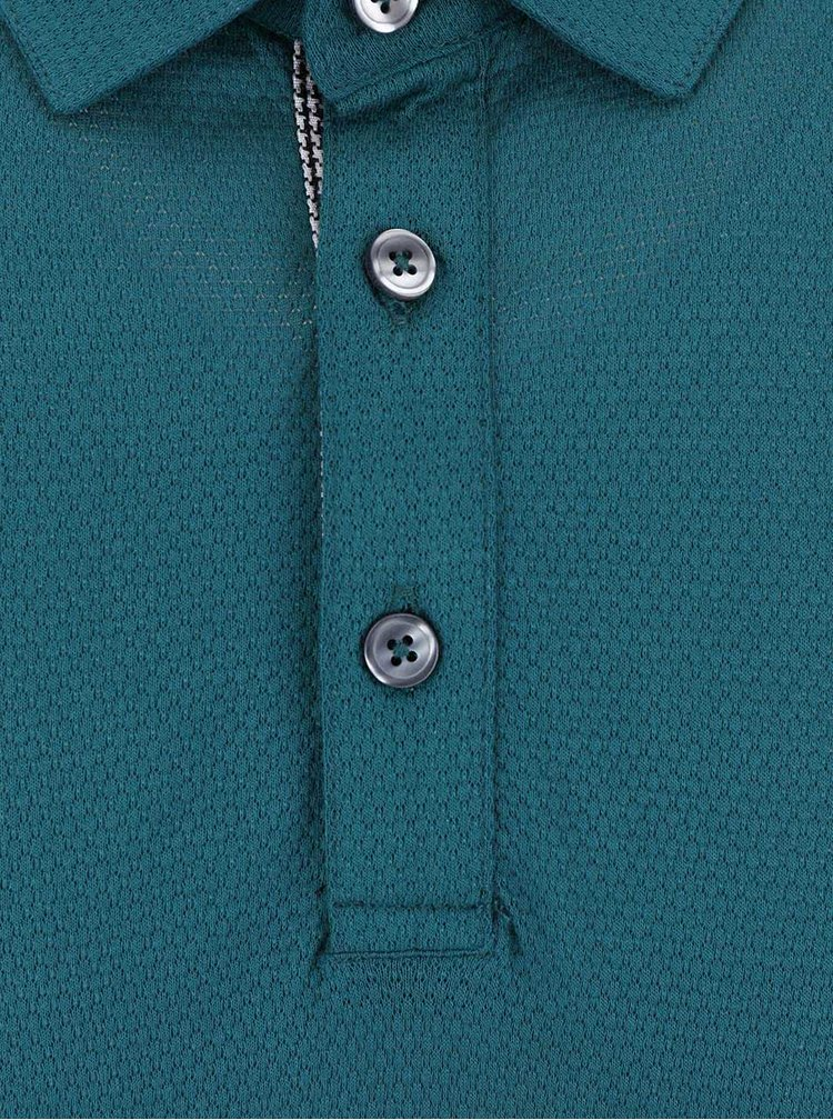 Tricou polo Burton Menswear London verde
