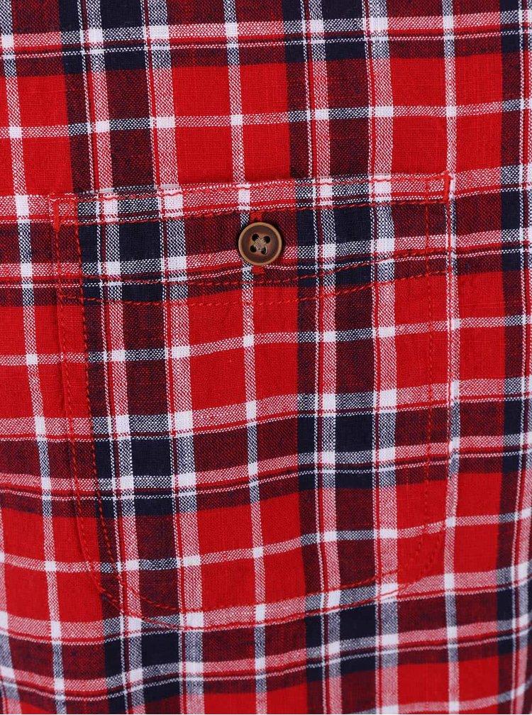 Cămașă Burton Menswear London roșu-albastru