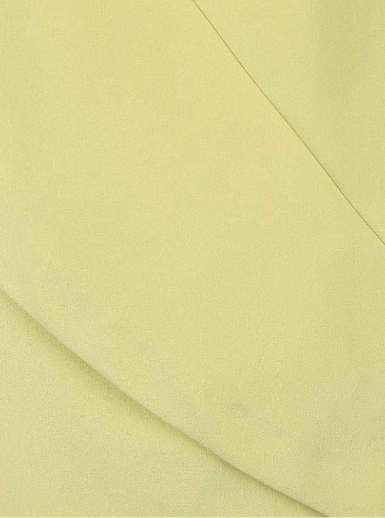Limetkovozelené šaty Miss Selfridge