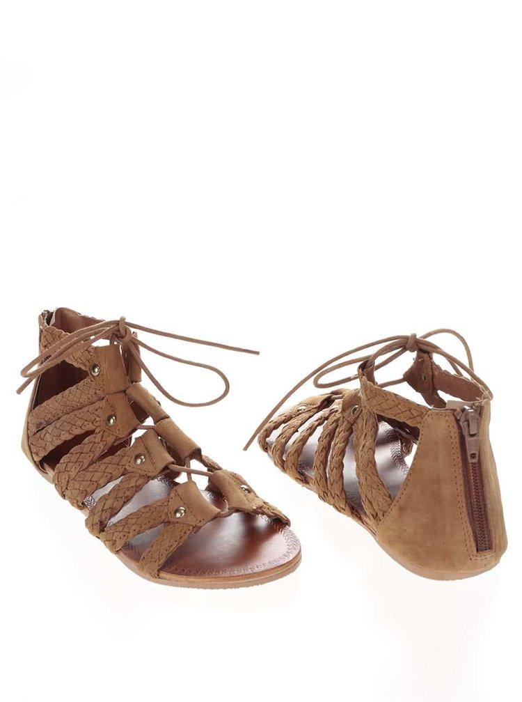 Sandale Miss Selfridge maro