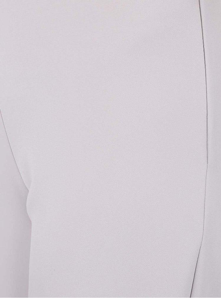 Krémovošedé culottes kalhoty Miss Selfridge