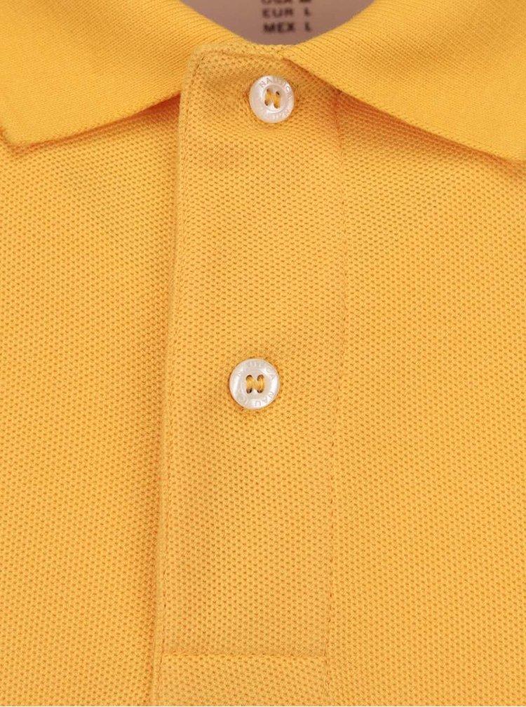 Žltá pánska polokošeľa Nautica